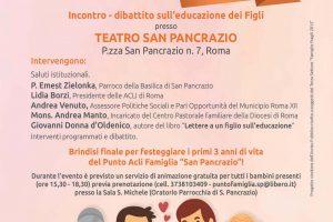 Festa della Famiglia 2017 (Teatro Basilica San Pancrazio – Roma)